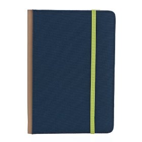 "M-Edge Trip Kindle Jacket (Fits 6"" Display, Latest Generation Kindle), Navy Blue w/Lime Green"