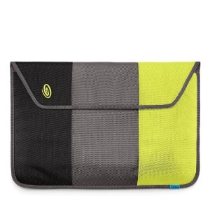 "Timbuk2 Nylon Kindle Sleeve (Fits 6"" Display, Latest Generation Kindle) Black/GunMetal/Lime-Aide"