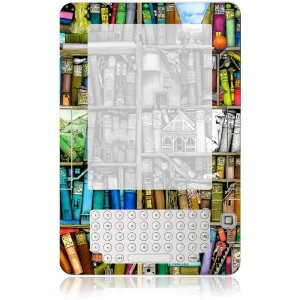 GelaSkins Protective Skin for Amazon Kindle 2 (Bookshelf)
